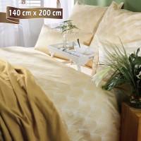 Bettwäsche Curt Bauer Toulouse gelb 140 cm x 200 cm (