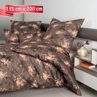 Bettwäsche Janine Messina 43097 coral 135 cm x 200 cm