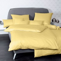 Bettwäsche Janine UNI Colors 31001 gelb