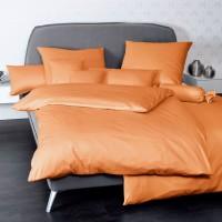 Bettwäsche Janine UNI Colors 31001 orange