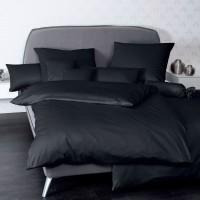 Bettwäsche Janine UNI Colors 31001 schwarz
