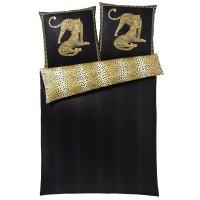 Bettwäsche Elegante Gepard Pair 2352 schwarz