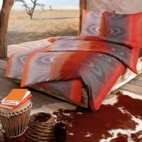 Bettwäsche Estella Africa 6702 rot