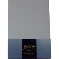 Spannbetttuch Janine Jersey 5007 silber