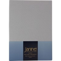 Spannbetttuch Janine Jersey 5007 platin