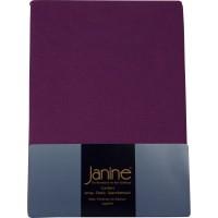Spannbetttuch Janine Jersey 5007 malve