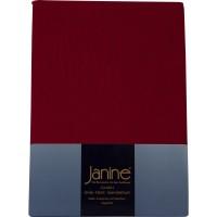 Spannbetttuch Janine Elastic Jersey 5002 granat