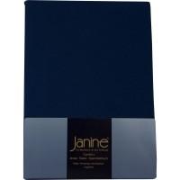 Spannbetttuch Janine Jersey 5007 marine
