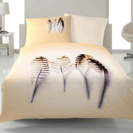 Bettwäsche Yes for Bed Shadow 1447 beige