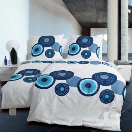 Bettwäsche modern art 4114 blau