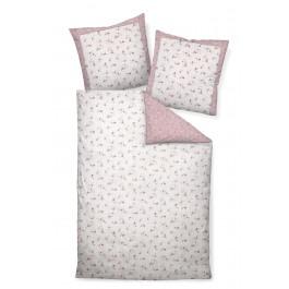 Bettwäsche Janine Romantico 46012 rosa silber