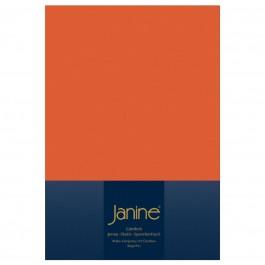 Spannbetttuch Janine Elastic Jersey 5002 mandarine
