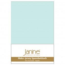 Spannbetttuch Janine Jersey 5007 morgennebel