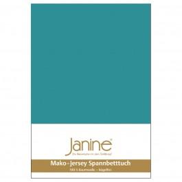 Spannbetttuch Janine Jersey 5007 capri