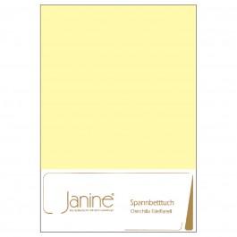 Spannbetttuch Janine Chinchilla-Edelflanell 7000 gelb
