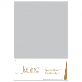 pannbetttuch Janine Chinchilla-Edelflanell 7000 silber