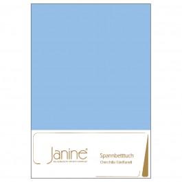 Spannbetttuch Janine Chinchilla-Edelflanell 7000 blau