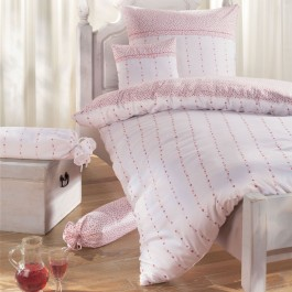 Bettwäsche Janine Chinchilla 7505 rose