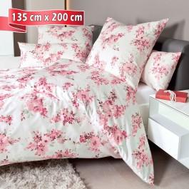 Bettwäsche Janine Carmen 53076 quarzrosa 135 cm x 200 cm