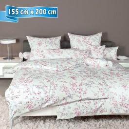 Bettwäsche Janine Carmen 53078 ibesrose 155 cm x 200 cm