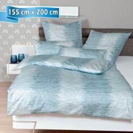 Bettwäsche Janine Messina 43084 pastelltürkis 155 cm x 200 cm