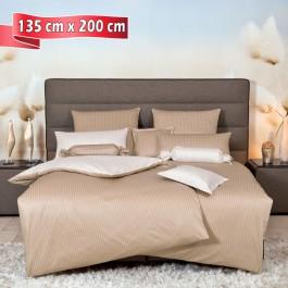 Bettwäsche Janine modernclassic 3936 beige 135 cm x 200 cm