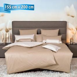 Bettwäsche Janine modernclassic 3936 beige 155 cm x 200 cm