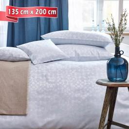 Bettwäsche Curt Bauer CLEO silver blue 135 cm x 200 cm