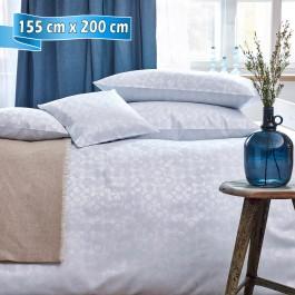 Bettwäsche Curt Bauer CLEO silver blue 155 cm x 200 cm