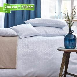 Bettwäsche Curt Bauer CLEO silver blue 200 cm x 200 cm