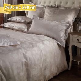Bettwäsche Curt Bauer Eleonore beige 240 cm x 220 cm