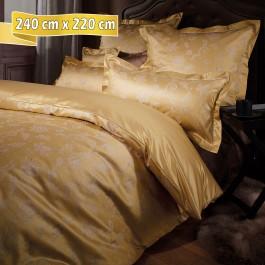Bettwäsche Curt Bauer Elizabeth gold 240 cm x 220 cm