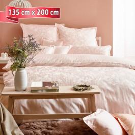 Bettwäsche Curt Bauer Sanna apricot 135 cm x 200 cm
