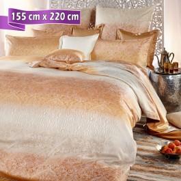 bettw sche curt bauer soraya safran 155 cm x 220 cm. Black Bedroom Furniture Sets. Home Design Ideas