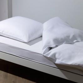 Bettwäsche Traumflachs Pure weiß
