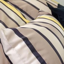 Bettwäsche Curt Bauer Lodge 2491 braun-gelb