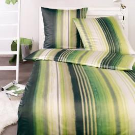 Bettwäsche Estella Ezzo 6687 irischgrün