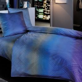 Bettwäsche Estella Franjo 7552 nachtblau