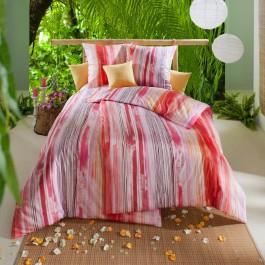 Bettwäsche Estella Mako-Satin Largo 7870 pink