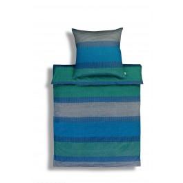 Bettwäsche Estella Leo 7878 blau
