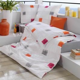Bettwäsche Estella Teneriffa 2216 orange