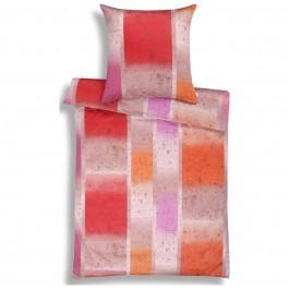 Bettwäsche Mako-Satin Lamazi 7871 pink