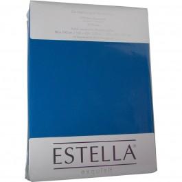 Spannbetttuch Estella Zwirn-Jersey 6900 royal