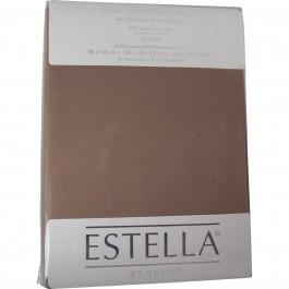Spannbetttuch Estella Zwirn-Jersey 6900 bahama