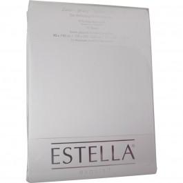 Spannbetttuch Estella Zwirn-Jersey 6900 weiß