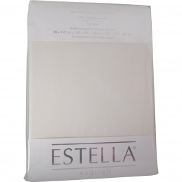 Spannbetttuch Estella Jersey 6500 elfenbein