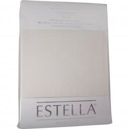Spannbetttuch Estella Zwirn-Jersey 6900 elfenbein