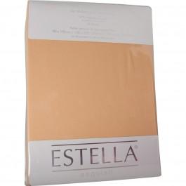 Spannbetttuch Estella Zwirn-Jersey 6900 sand