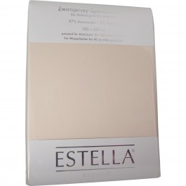Spannbetttuch Estella Jersey 6500 beige