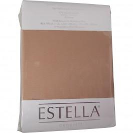 Spannbetttuch Estella Zwirn-Jersey 6900 karamel